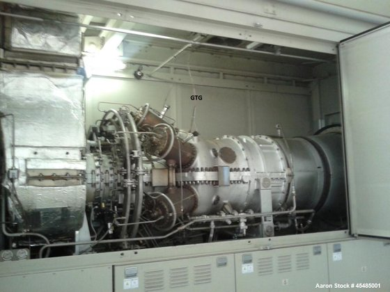 Used- Kawasaki Natural Gas Turbine,