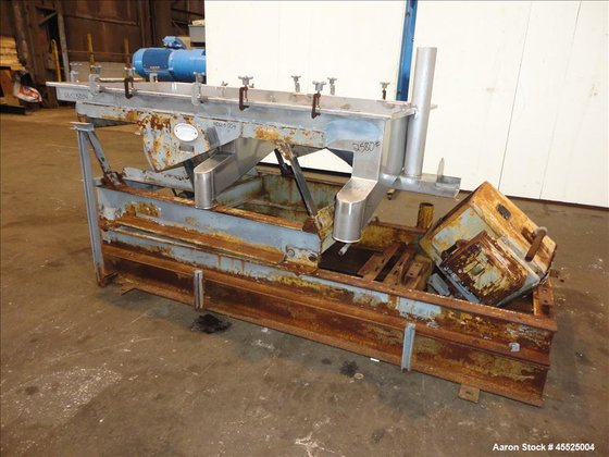 Used- Witte Screener, 304 Stainless