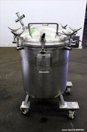 Used- Precision Stainless Pressure Tank,