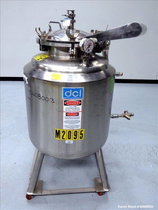 Used- DCI Reactor, 50 Gallon,