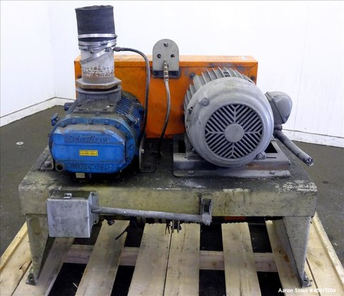 Used- Schwitzer Horizontal Rotary Positive