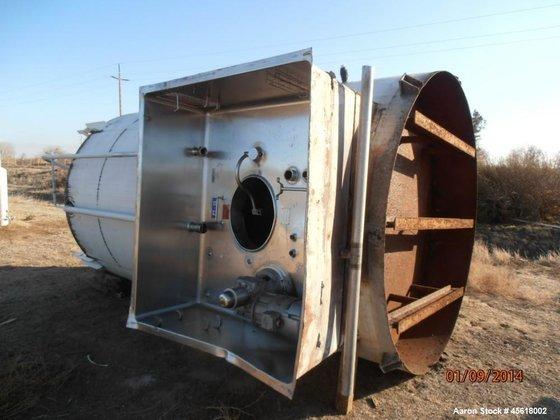 Used- Crepaco Dairy Silo Tank,