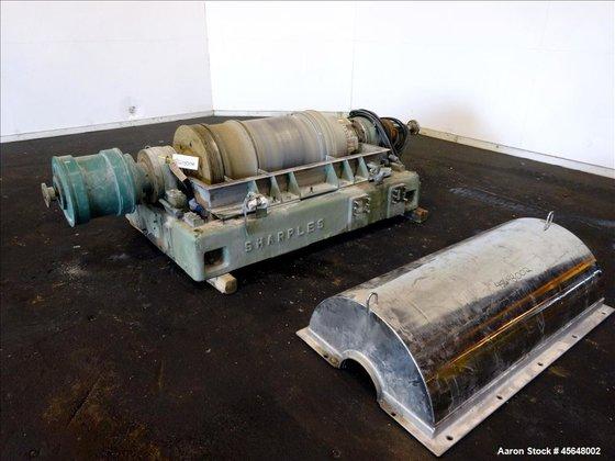 Used- Sharples PM-40000 Super-D-Canter Centrifuge.