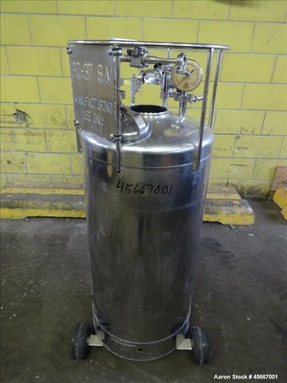 Used- Alloy Products Pressure Tank,
