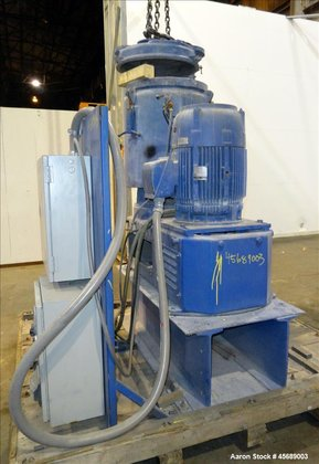 Used- Papenmier High Intensity Mixer,