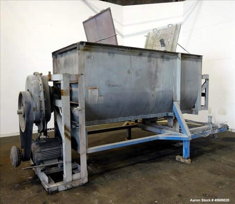 Used- Davis Paddle Mixer, Approximate