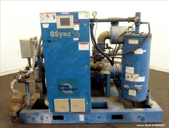 Used- Quincy QSync Water Cooled