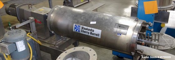 Used-Waukesha Cherry-Burrell Stainless Steel Votator