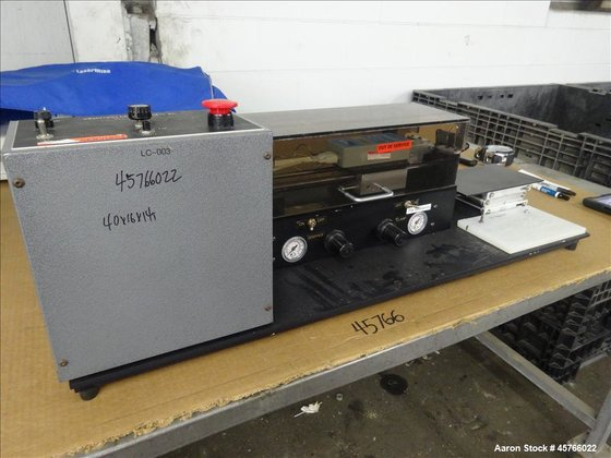 Used- Vinatoru Enterprises Tensile/Strength Tester,