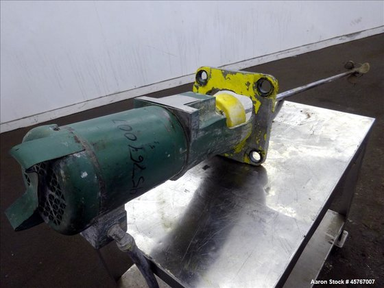 Used- Lightnin Agitator, 316 Stainless