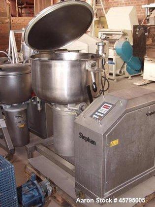 Used- Stephan Vacuum Mixer, Model