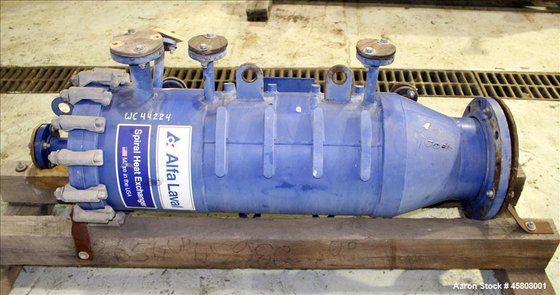 Used- Alfa Laval Spiral Heat