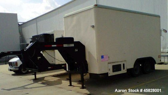 Used- 17' Reefer/Freezer Pull Trailer.