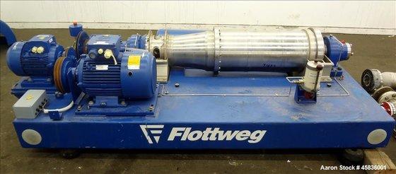 Used- Flottweg Z32/4-451 Solid Bowl