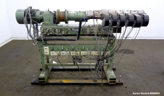 Used- Berstoff 25mm Twin Screw