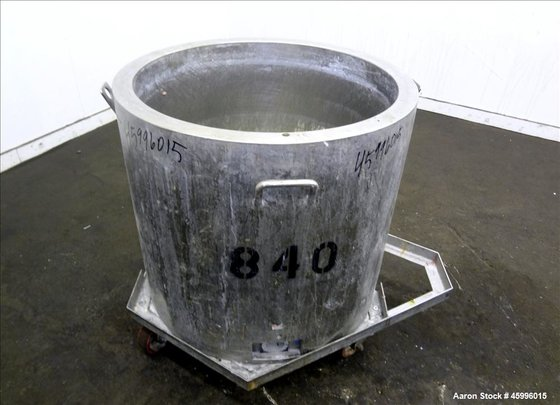 Used- Tank, Approximate 60 Gallon,