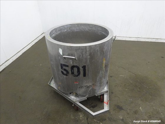 Used- Approximate 60 Gallon Tank,