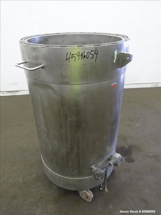 Used- Tank, Approximate 50 Gallon,
