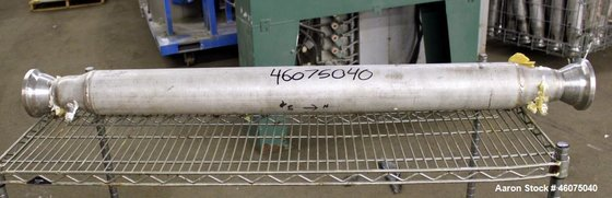 Used- Koch-Glitsch Static Mixer, Stainless