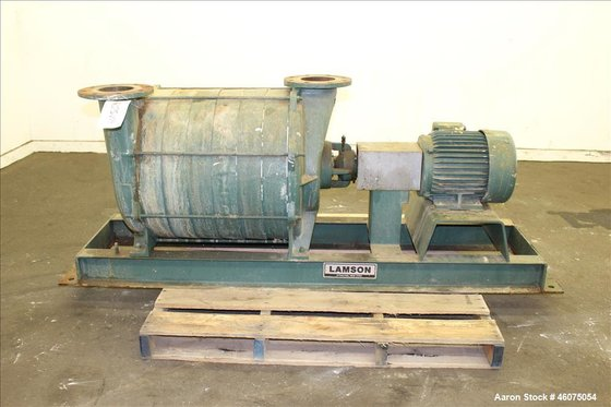 Used- Lamson Multistage Centrifugal Blower,