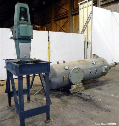Used- Agitated Tank, 425 Gallon,