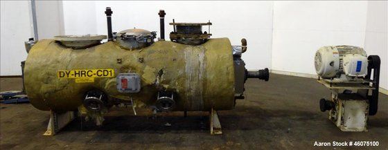 Used- Processall Rotary Vacuum Dryer