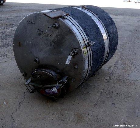 Used- Tank, 650 Gallon, 304