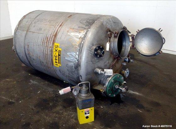 Used- Tank, 500 Gallon, 304