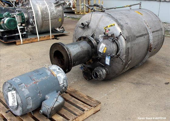 Used- Cowles Tank Mounted Dissolver,