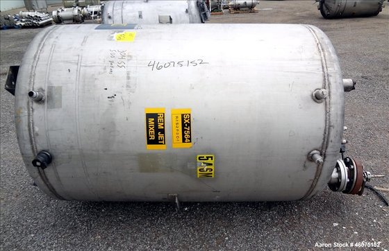 Used- Tank, 500 Gallon, 304