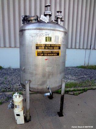 Used- Tank, 275 Gallon, 304