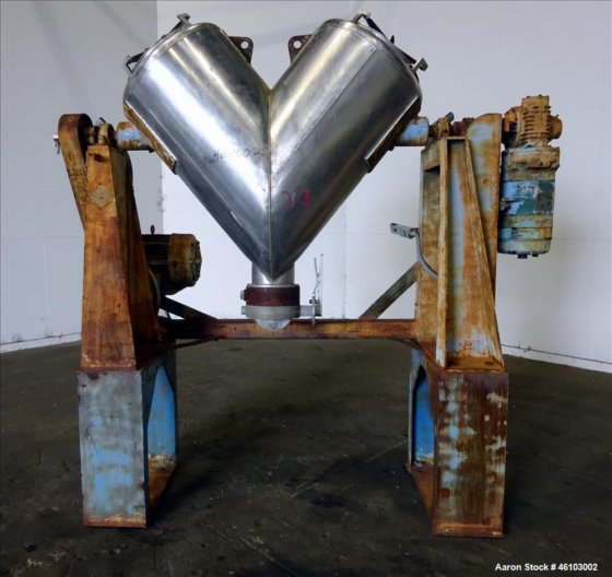 Used- Twin Shell Blender, Approximate