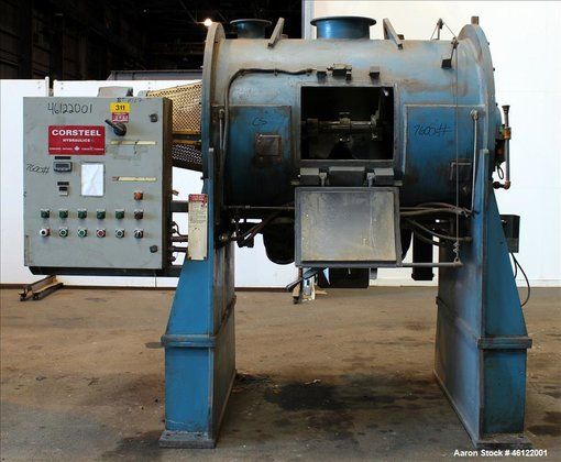 Used- Corsteel Plow Mixer, Model