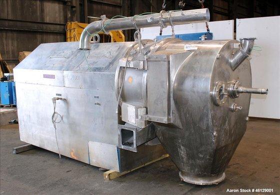 Used- Heinkel Inverting Filter Centrifuge,