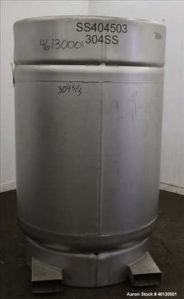 Used- Sharpville Container Pressure Tank,