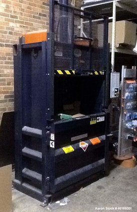 Used- Cram-A-Lot Vertical Baler, Model