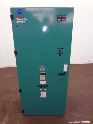 Used- Cummins/Onan Automatic Transfer Switch,