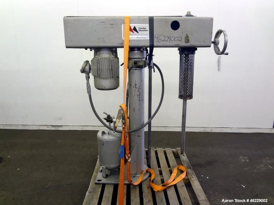 Used- Cowles Disperser, Model W-24-1X.