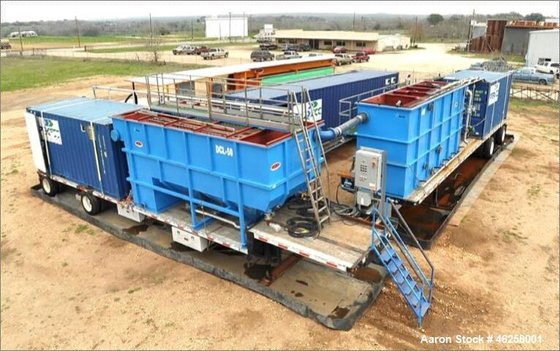 Used- Mobile Water Treatment Plant,