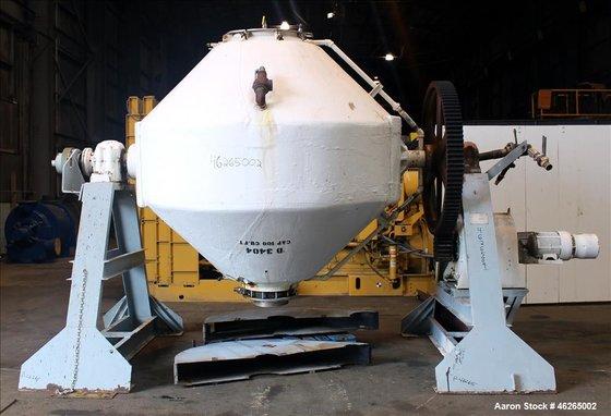 Used- Komline-Sanderson Double Cone Vacuum