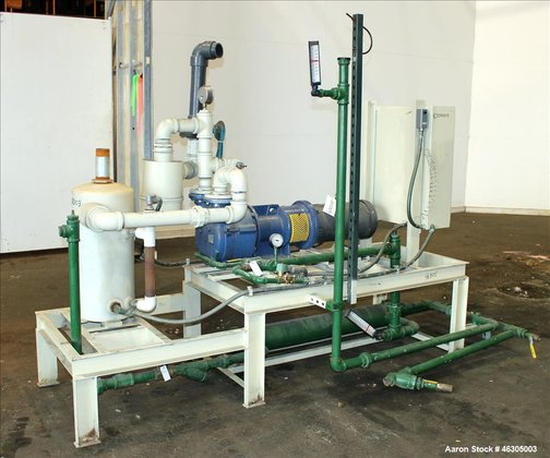 Used- Squire Cogswell Vacuum Pump