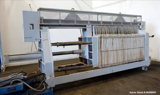 Used- Filter Press. Carbon steel