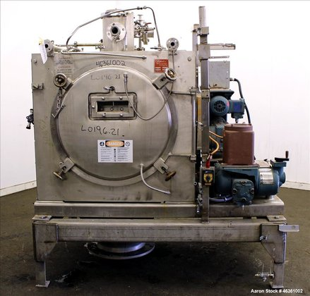Used- Buflovak Vacuum Double Drum