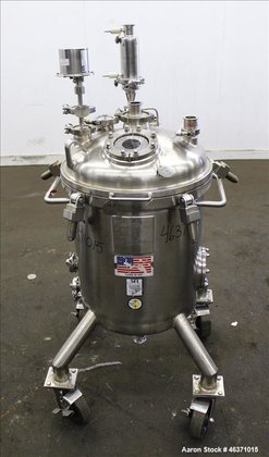 Used- Stainless Fabrication Pressure Tank,