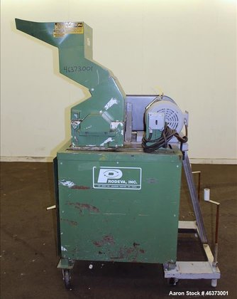 Used- Prodeva Single Rotor Plastics