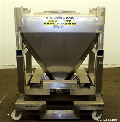 Used- GEI Gallay Stackable Powder