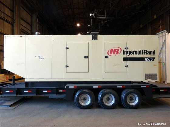 Used- Ingersoll Rand 504 kW