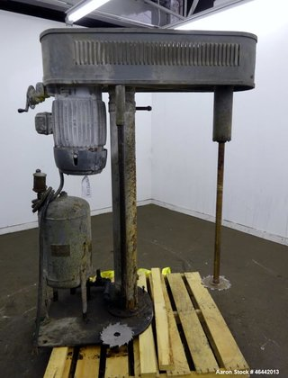 Used- Hockmeyer Disperser. Approximate 1-3/4""