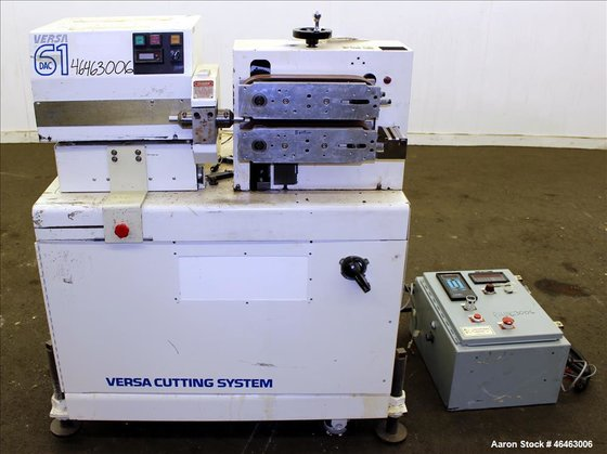 Used- Versa Machinery Puller/Cutter, Model