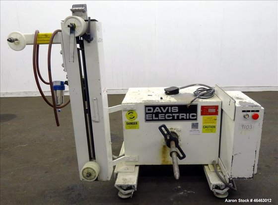 """Used- Davis Electric 18"""" Payoff,"""